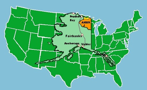 Anwr Alaska Map.Anwr And The Lies Of Large Numbers The Last Tech Age