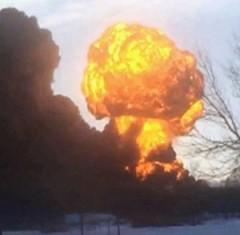 Casselton oil train explosion
