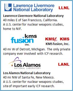 LLNL KMS_Fusion LANL